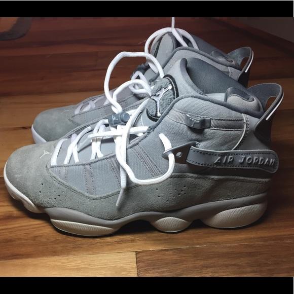 reputable site 61842 9f110 Air Jordan Six Rings Grey/White